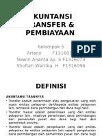 Akuntansi Transfer & Pembiayaan