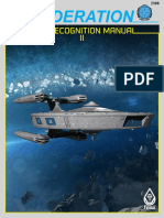 Federation Starship Recognition Manual II 2nd Edition FASA 2308