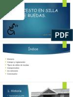 Historia Del Baloncesto Para Discapacitados