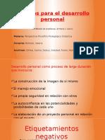 Métodos Para El Desarrollo Personal