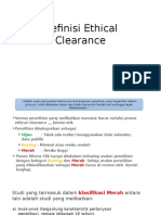 Ethical Clearance