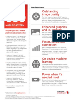 Qualcomm Snapdragon 630 Mobile Platform Product Brief