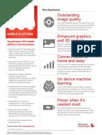 Qualcomm Snapdragon 660 Mobile Platform Product Brief