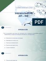 Presentación API 575