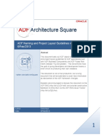ADF Naming and Project Layout Guidelines v2.00