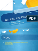 drinking and driving presentation