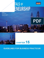 Chapter 15 Guidelines for Business Practicum
