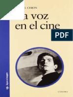 CHION, M. - La voz.pdf