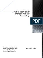 How has been family changed with the technology.pptx