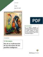 Serie Efemérides Diversidad Cultural Nº 4