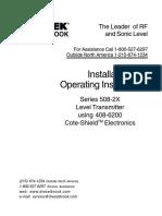 408 6200 Cote Shield Manual
