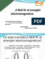 Transferul Fara Fir Al Energiei Electromagnetice_Popa Mihai