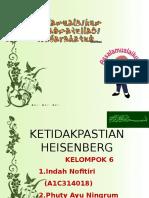 Kelompok 6_ketidakpastian Heisenberg