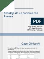 Abordaje de Un Paciente Con Anemia