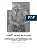 Gurdjieff´s sayings & quotes on GOD