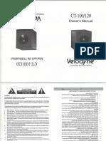 Ct Series Manual