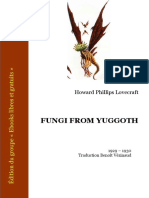 Lovecraft Fungi From Yuggoth