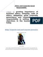 Business Ethics and Corporate Social Responsibility (1)