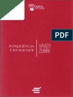 Inteligência e Realidade - (Xavier Zubiri).pdf.pdf