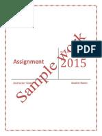 CMC-Assignment R