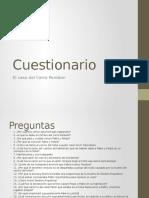 Cuestionario El caso del Cerro Panteon