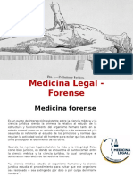 Medicina Legal - Forense
