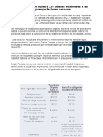 Estados Unidos cobrará 237 dólares adicionales a las.pptx