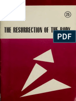 Karl Rahner__The Resurrection of the Body