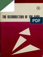 Karl Rahner__The Resurrection of the Body
