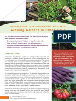Urban Gardening Fact Sheet