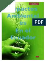 Impacto Ambiental Ecuador