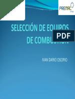 5. Seleccion de Equipos de Comb - Ivan Osorio