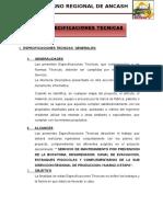 Especificaciones Tecnicas Generales Marco