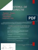 Sistem de directie