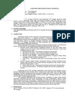 Refleksi Kasus Blok 18 (Nevi Seftaviani 20110310078) RSUD Wates