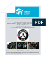 Habitat for Humanity - Serve Opportunity