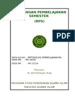 RPS Akif Khilmiyah_Metodologi Pembelajaran PAI (Edit)