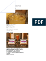 10 Bebidas Postres y Antojitos Guatemaltecos