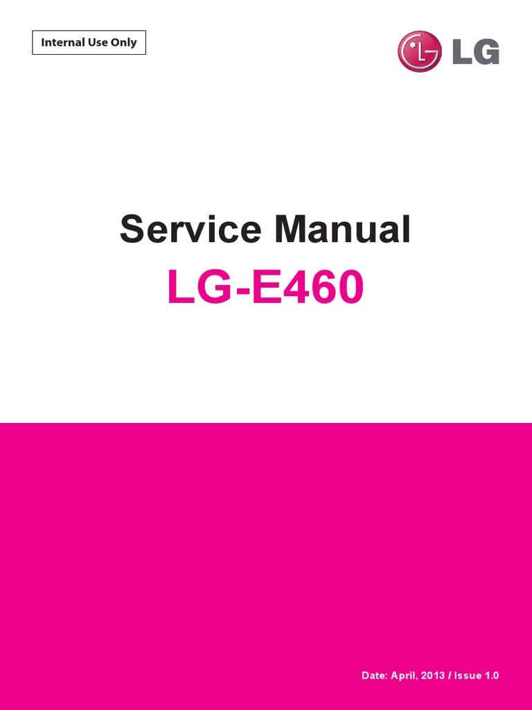 LG E460 Optimus L5 II Service Manual