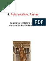 4. Polis Arkaikoa Atenas EGELA 16-17