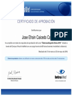 Certificado Del Curso