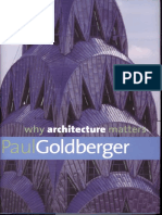 Why Architecture Matters GOLDBERGER