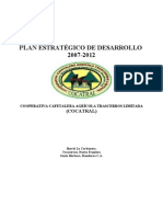Plan Estrategico COCATRAL