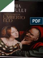Istoria Uratului - Umberrto Eco