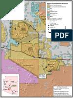 Sonoran Desert Nat Mon Map