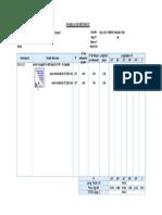 Formatoo Metrado de Acer