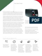 Pm42 Industrial Printer Data Sheet en a4 honeywell datamax