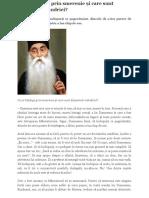 Arsenie Papacioc - Ce Se Înțelege Prin Smerenie Și Care Sunt Dezastrele Mândriei