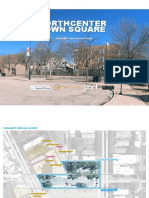 North Center Town Square Preliminary Concepts