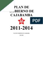 PLAN DE GOBIERNO CANDIDATO A LA ALCALDIA PROVINCIAL CAJABAMBA, RUBEN LORENZO CERNA HERNANDEZ